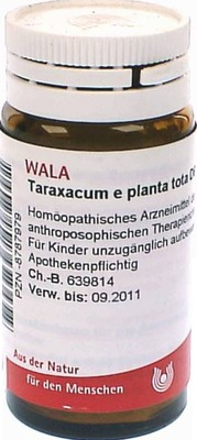 TARAXACUM E plant.tota D 6 Globuli