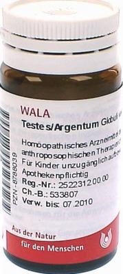 TESTES/ARGENTUM Globuli