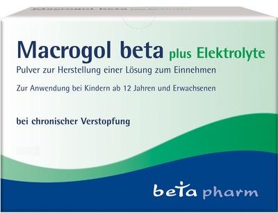 Macrogol beta plus Elektrolyte
