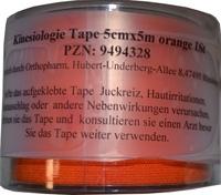 KINESIOLOGIE Tape 5 cmx5 m orange