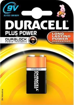 DURACELL Plus Power 9V (MN1604/6LR61) K1