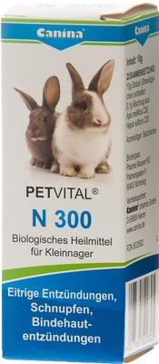 PETVITAL N 300 Globuli für Kleinnager
