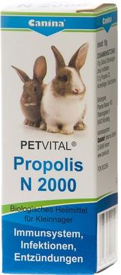 PETVITAL N 2000 Propolis Globuli für Kleinnager