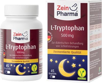 L-TRYPTOPHAN 500 mg aus Fermentation Kapseln