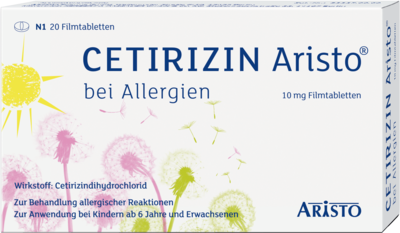 Cetirizin Aristo bei Allergien 10mg
