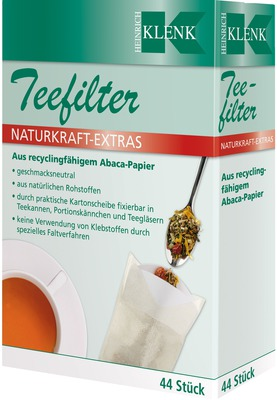 Heinrich Klenk GmbH & Co. KG TEEFILTER Klenk für losen Tee 10270060