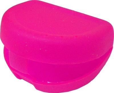 ZAHNSPANGENBOX small pink transparent