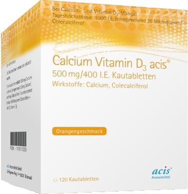 Calcium Vitamin D3 acis 500mg/400 I.E.