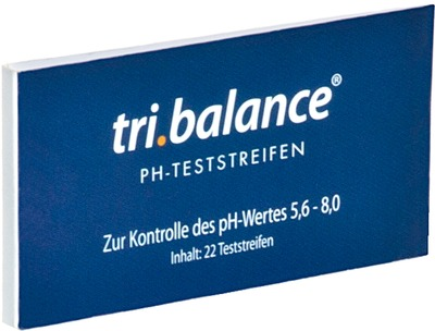 TRI.BALANCE pH-Teststreifen Pocket