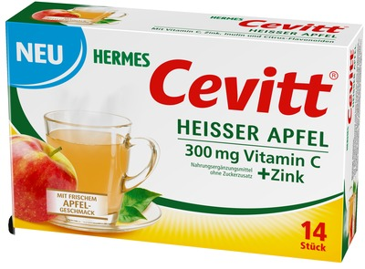 HERMES Cevitt heißer Apfel Granulat
