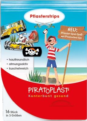 Dr. Ausbüttel & Co. GmbH PIRATOPLAST Jungen Pflasterstrips 3 Größen 11519432