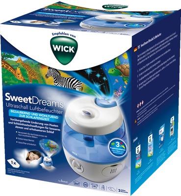 WICK SweetDreams 2in1 Ultraschall Luftbefeuchter