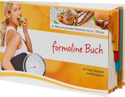 FORMOLINE Buch Tipps+Rezepte+Menüpläne+Wochenpläne