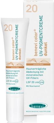 Benevi Med GmbH & Co. KG BENEVI Color UV-Pigmentcreme dunkel LSF 20 11642434
