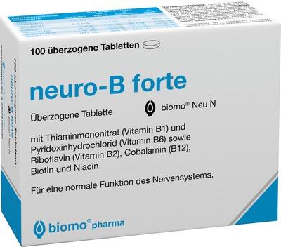 NEURO B forte biomo Neu überzogene Tabletten