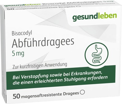 Bisacodyl Abführdragees 5 Mg