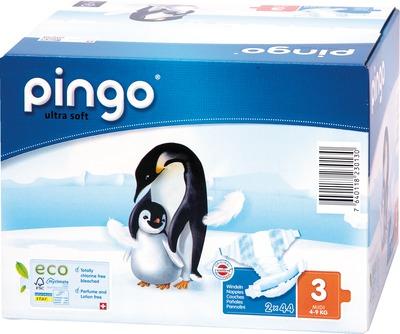 BIO WINDELN midi Jumbo 4-9 kg Pinguin PINGO SWISS