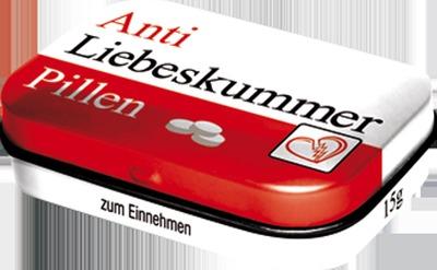 PILLENDOSE Anti Liebeskummer Pillen