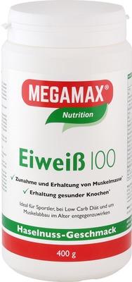 Eiweiss 100 Haselnuss Megamax Pulver