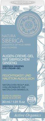 NATURA SIBERICA Augencreme-Gel m.sibir.Ginseng