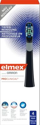 ELMEX ProClinical Intens Bürstenköpfe schwarz