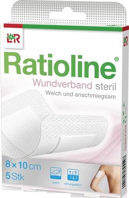Ratioline Wundverband 10x8 Cm Steril