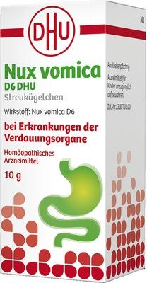 Nux Vomica D6 DHU Streukügelchen