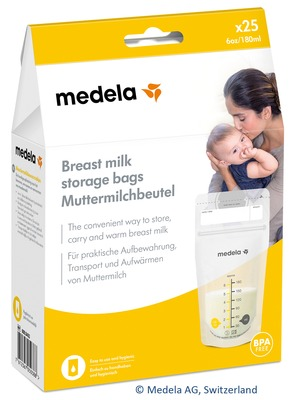 MEDELA Muttermilch Aufbewahrungsbeutel