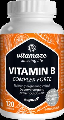 Vitamin B-complex Extra Hochdosiert Vegan Tabl.