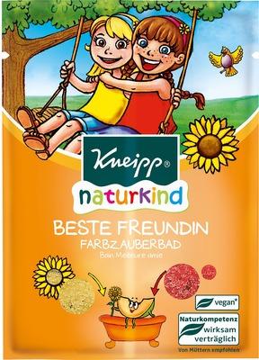 KNEIPP naturkind Beste Freundin Farbzauberbad
