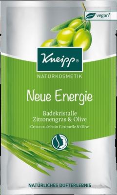 KNEIPP Naturkosmetik Neue Energie Badekristalle