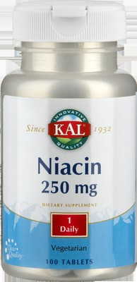 Vitamin B3 Niacin 250 mg Tabletten