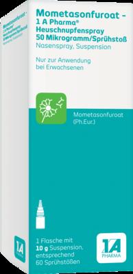 Mometasonfuroat-1a Ph.heuschnupfenspr.50µg/sp.stoß
