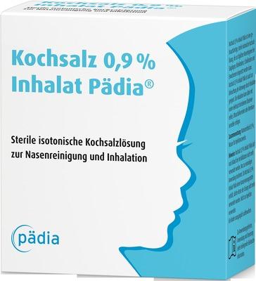Kochsalz 0,9% Inhalat Pädia Ampullen