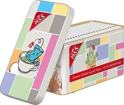 H&s Wohlfühltee Dose Mit 24 Teebeuteln