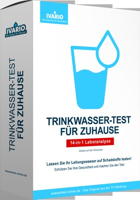Cerascreen GmbH TRINKWASSER-TEST für Zuhause 16762025